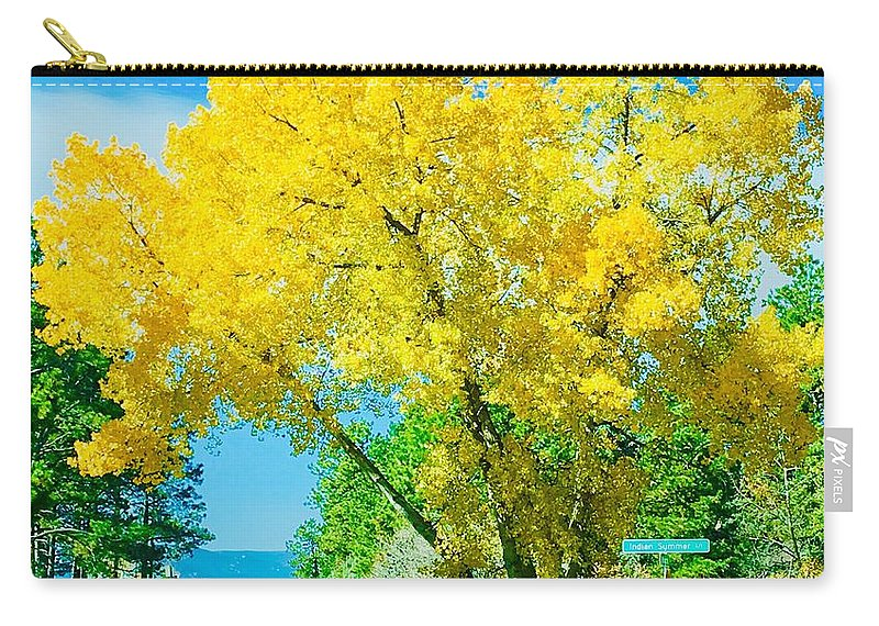 Landscape Carry-all Pouch featuring the photograph Woodmoor by Eric Robbins