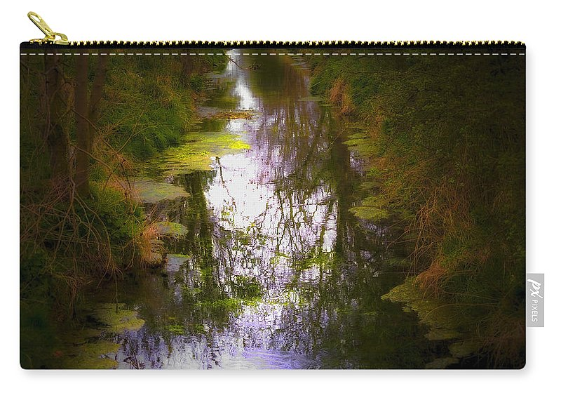 Woods Carry-all Pouch featuring the photograph Woods by Svetlana Sewell