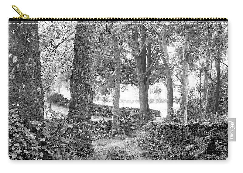 Carry-all Pouch featuring the photograph Woods, Troutbeck, Windermere by Iain Duncan