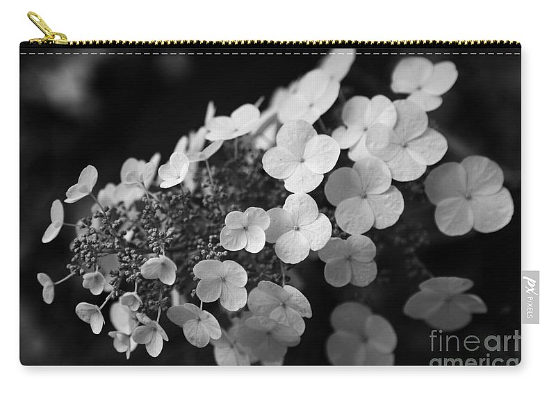 Hydrangea Carry-all Pouch featuring the photograph Working Together by Amanda Barcon