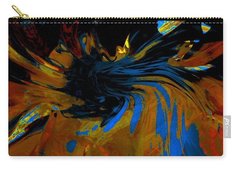 Space Carry-all Pouch featuring the photograph Wormhole Rupture by Tim G Ross