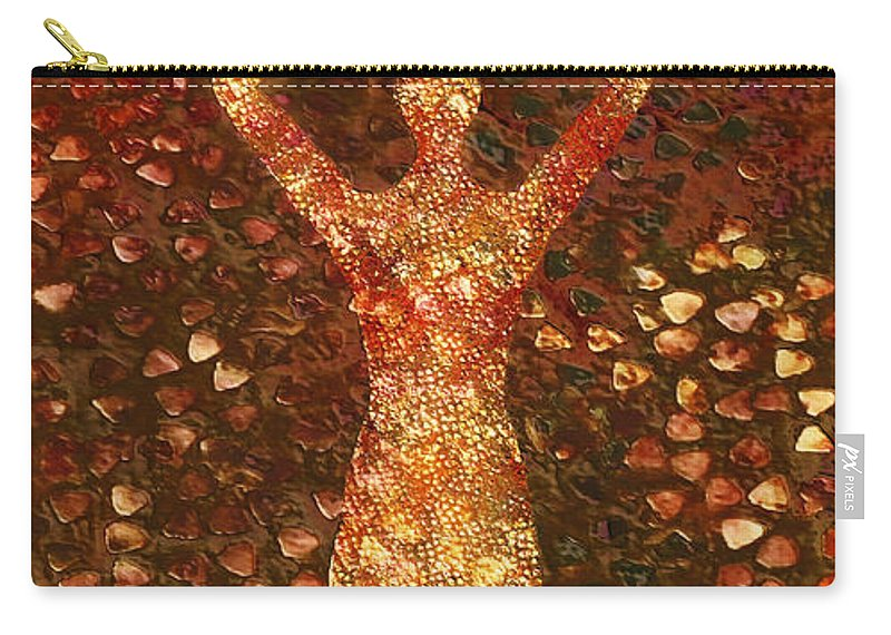 Photodream Carry-all Pouch featuring the digital art Worth by Jacky Gerritsen
