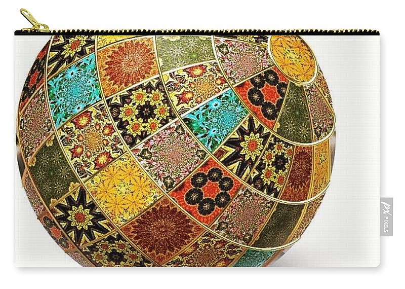 Fractals Carry-all Pouch featuring the photograph Wouldnt That Be Pretty by Nick Heap