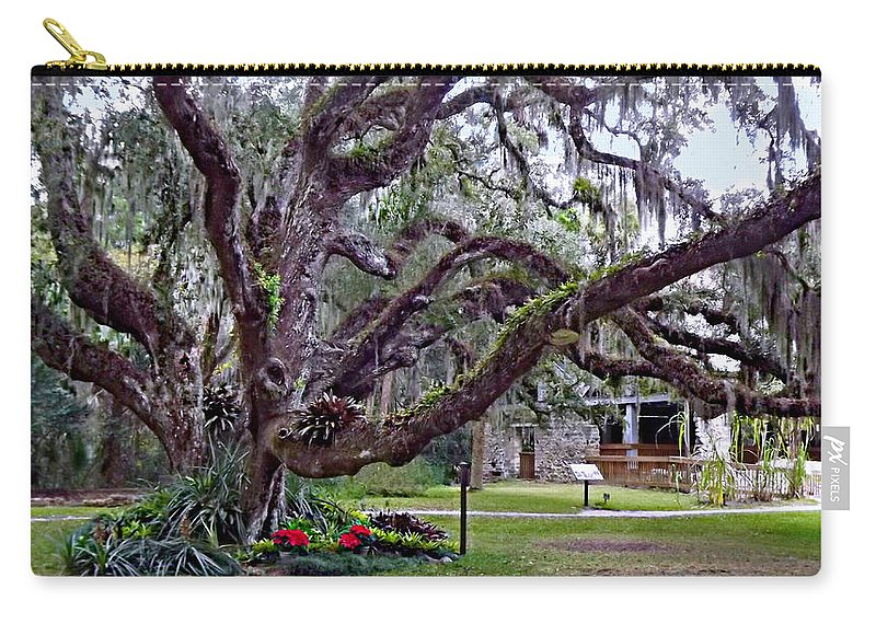 confederate Oak Carry-all Pouch featuring the photograph Wrap Me In Your Arms by Chris Crowley