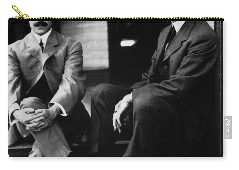 19th Century Carry-all Pouch featuring the photograph Wright Brothers by Granger