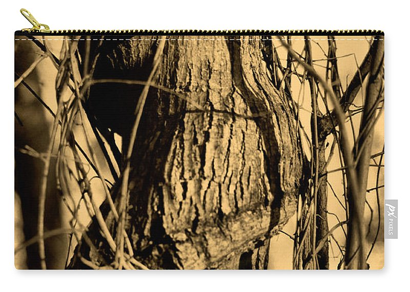 Tree Carry-all Pouch featuring the photograph Writhe Of My Soul by September Stone
