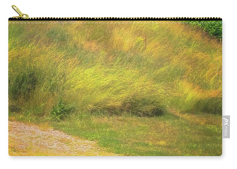 South Freeport Harbor Maine Carry-all Pouch featuring the photograph Ww II Fortification by Tom Singleton