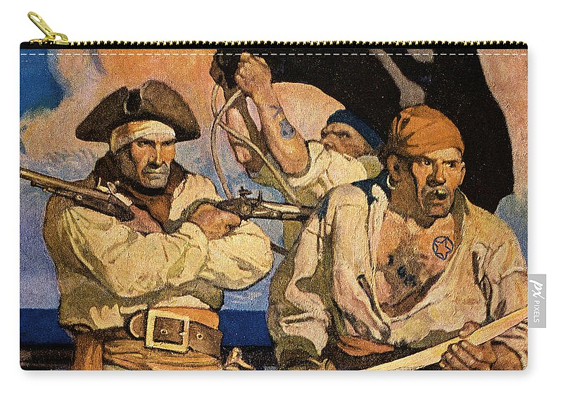 18th Century Carry-all Pouch featuring the photograph Wyeth: Treasure Island by Granger