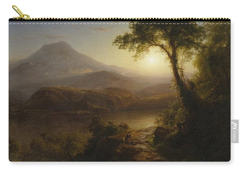 Attributed To Nehemiah Partridge (american Carry-all Pouch featuring the painting Wyntje by MotionAge Designs