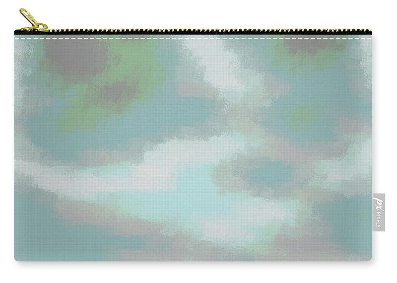 Art Carry-all Pouch featuring the digital art Xudats by Jeff Iverson