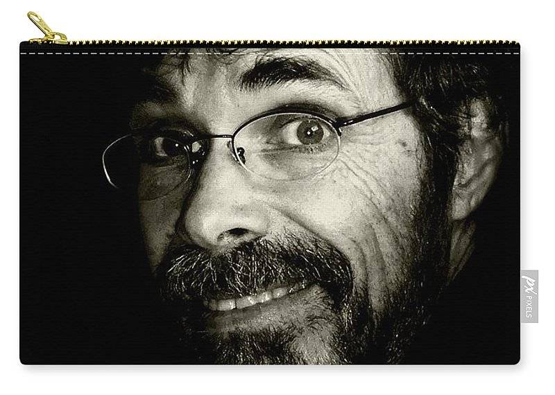 Man Carry-all Pouch featuring the photograph Ya Think by RC DeWinter