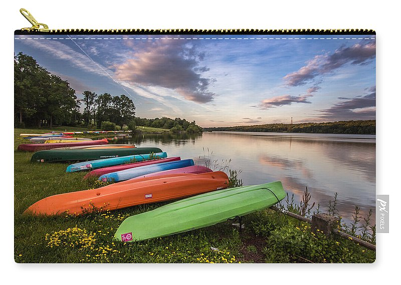 Clouds Carry-all Pouch featuring the photograph Yak Attack by Todd Wilkinson