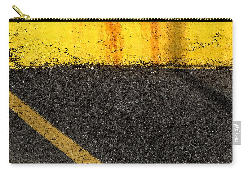 Yellow Carry-all Pouch featuring the photograph Yellow And Grey Wc by Lyle Crump