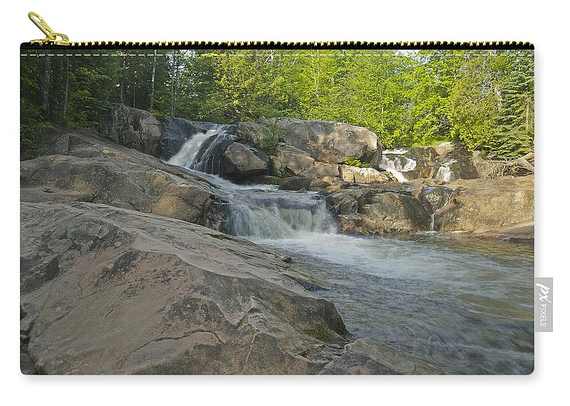 Landscape Carry-all Pouch featuring the photograph Yellow Dog Falls 4213 by Michael Peychich