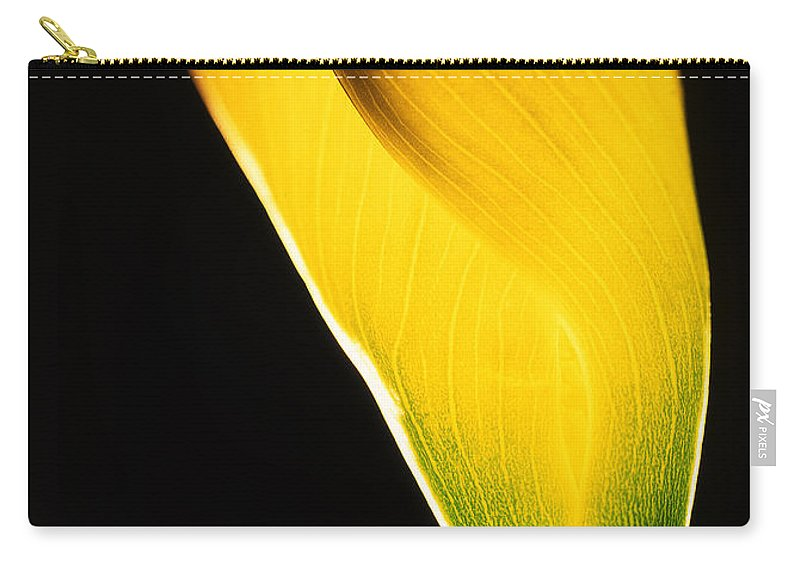 Flower Carry-all Pouch featuring the photograph Yellow Essence by Casper Cammeraat