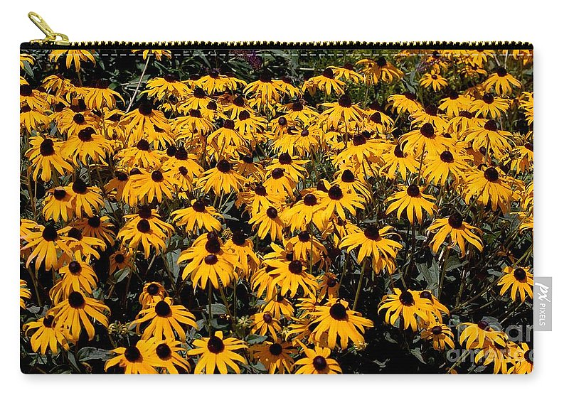 Digital Photo Carry-all Pouch featuring the photograph Yellow Is The Color Of ..... by David Lane