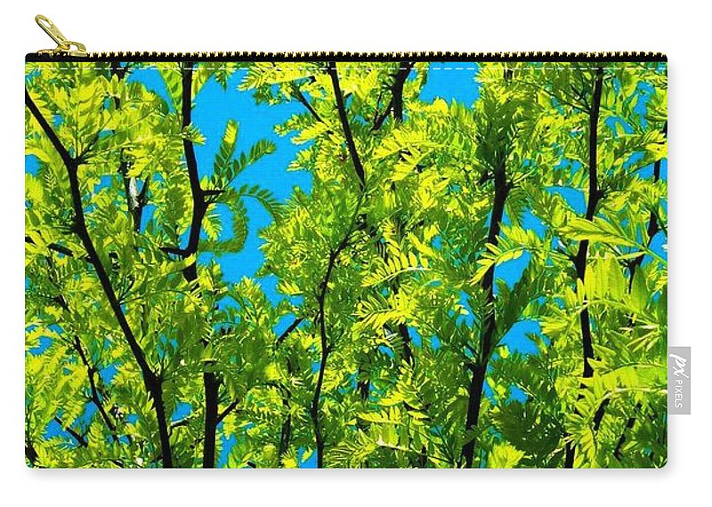 Nature Carry-all Pouch featuring the photograph Yellow ... by Juergen Weiss