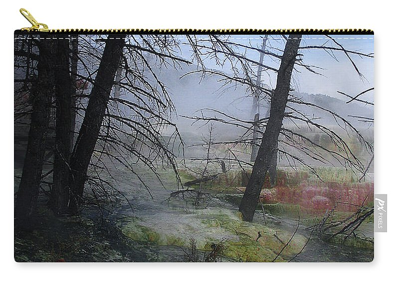 Yellowstone National Park Carry-all Pouch featuring the photograph Yellowstone National Park 4 by Xueling Zou