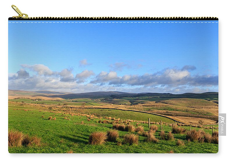 Landscape Carry-all Pouch featuring the photograph Yorkshire Dales - 28 by Chris Smith