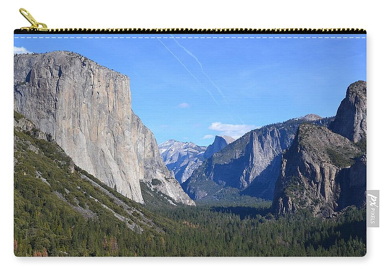 Yosemite National Park Carry-all Pouch featuring the photograph Yosemite National Park by Colleen Phaedra