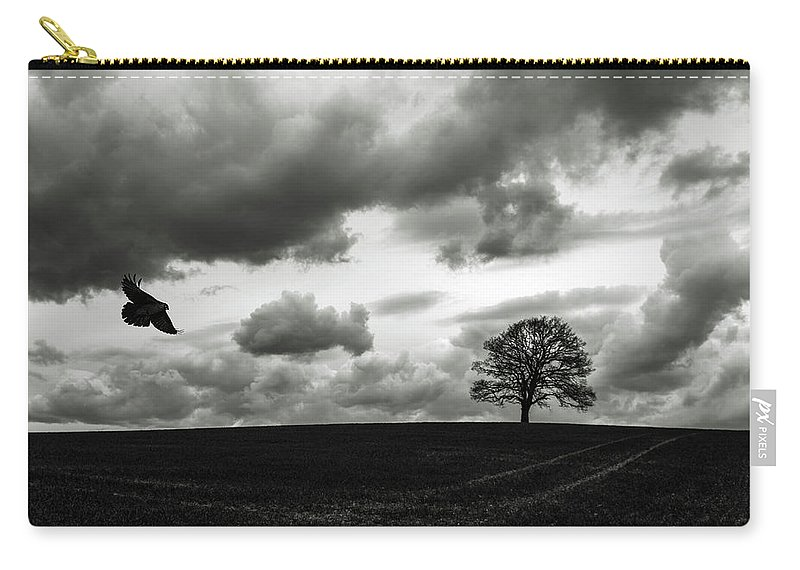 Bird Carry-all Pouch featuring the photograph You And Me by Jane Svensson