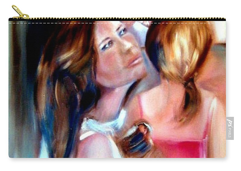 Mother Carry-all Pouch featuring the painting You Would Have Loved Her by Sandy Ryan