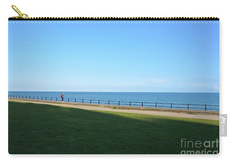You'll Never Walk Alone Carry-all Pouch featuring the photograph You'll Never Walk Alone by Des Marquardt