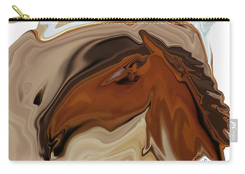 Youngster Carry-all Pouch featuring the digital art Youngster by Rabi Khan