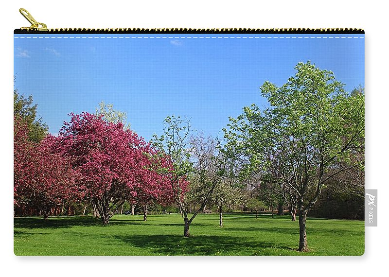 Spring Carry-all Pouch featuring the photograph Your Life Is Waiting by Michiale Schneider
