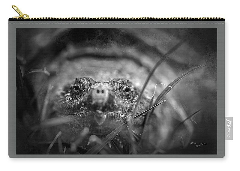 Animal Carry-all Pouch featuring the photograph Your Move by Marvin Spates