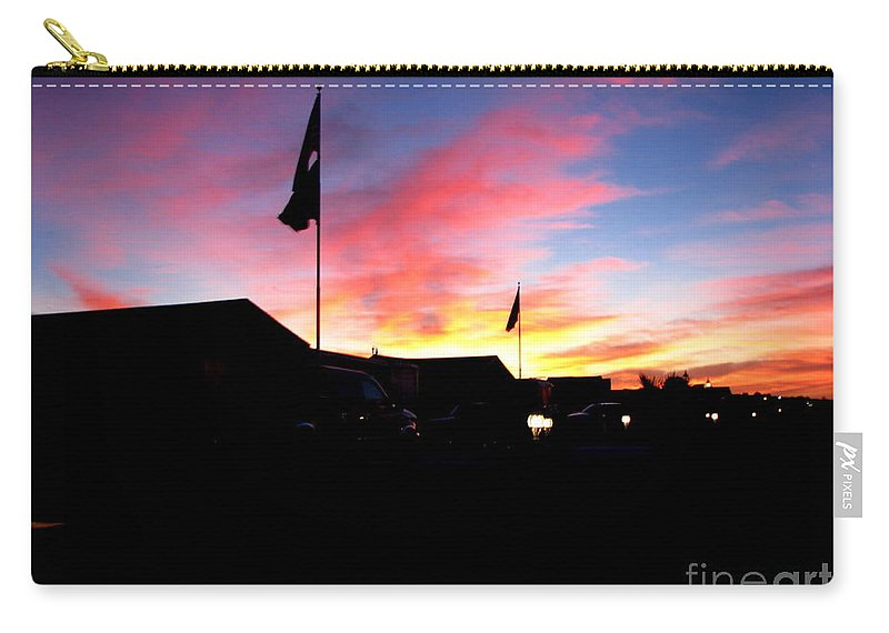 Patzer Carry-all Pouch featuring the photograph Yuma Sky by Greg Patzer