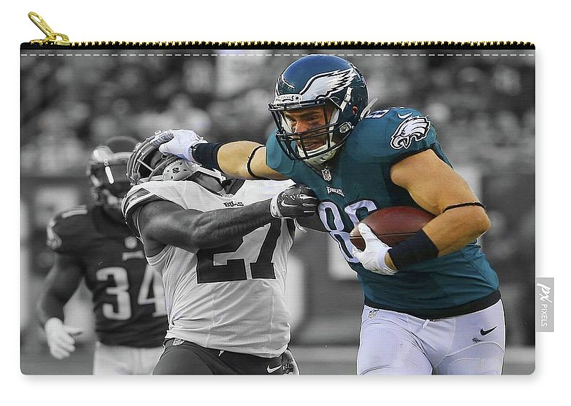 brand new 404e5 e0a19 Zach Ertz Eagles Super Bowl Carry-all Pouch