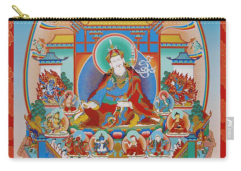 Zangdok Carry-all Pouch featuring the painting Zangdok Palri by Sergey Noskov