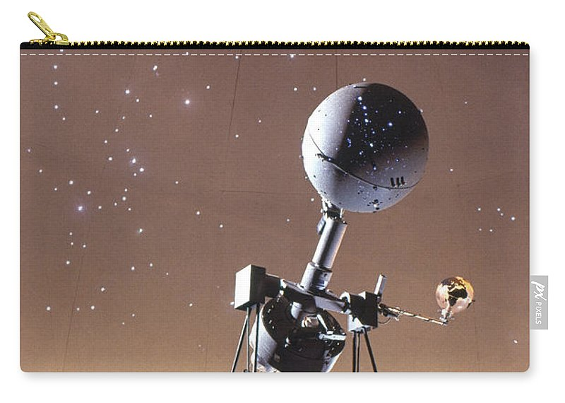 20th Century Carry-all Pouch featuring the photograph Zeiss Planetarium Projector by Granger