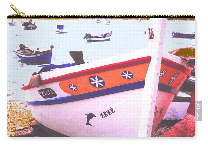 Portugal Carry-all Pouch featuring the photograph Zeze On The Algarve by Ian MacDonald