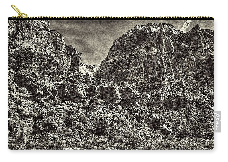 Pictorial Carry-all Pouch featuring the photograph Zion National Park II by Roger Passman