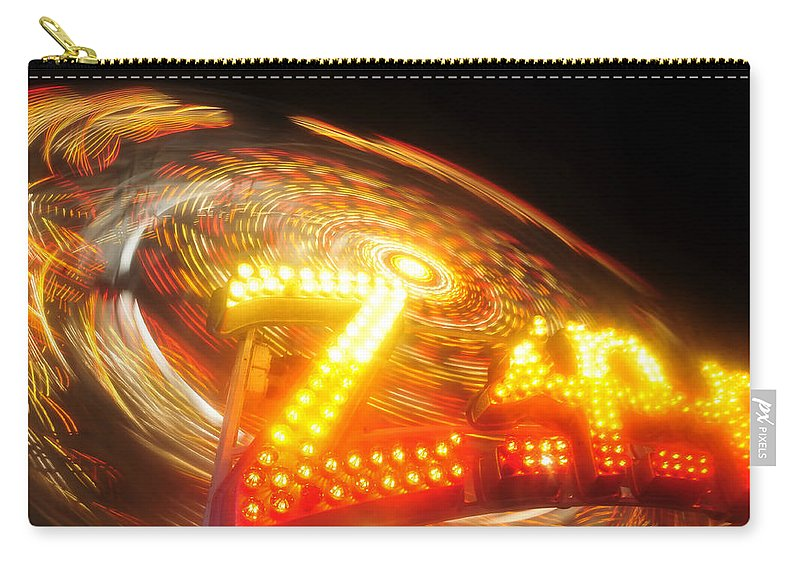 Florida State Fair Carry-all Pouch featuring the photograph Zipper by David Lee Thompson