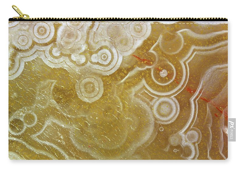 Mineral Carry-all Pouch featuring the photograph Agate by Matteo Chinellato - Chinellatophoto