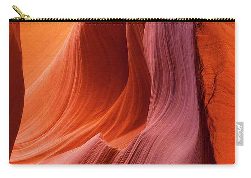 Tranquility Carry-all Pouch featuring the photograph Antelope Canyon, Page, Arizona by Paul Souders