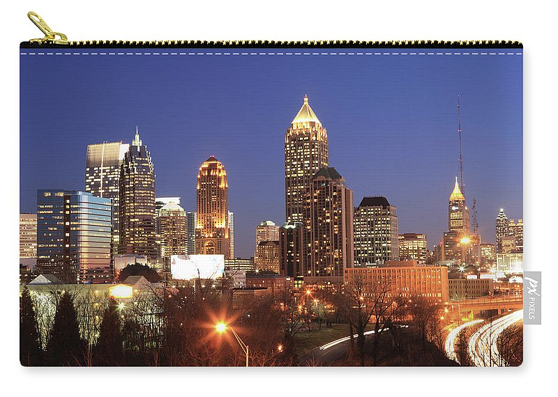 Atlanta Carry-all Pouch featuring the photograph Atlanta, Georgia by Jumper