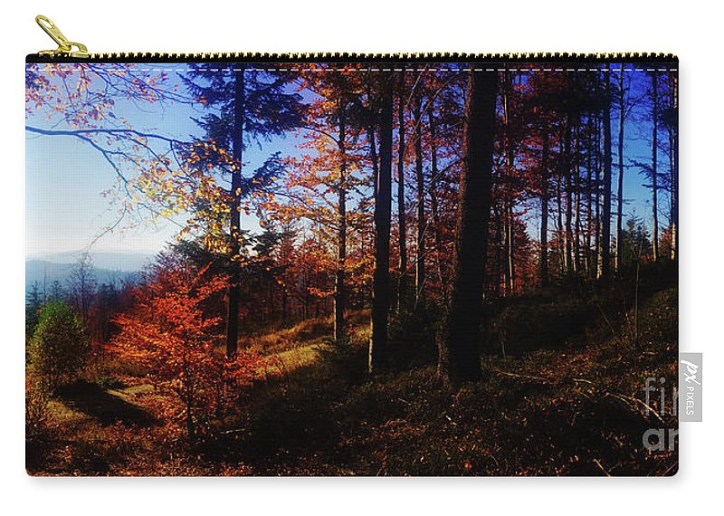 Autumn Carry-all Pouch featuring the photograph Autumn by Mo T