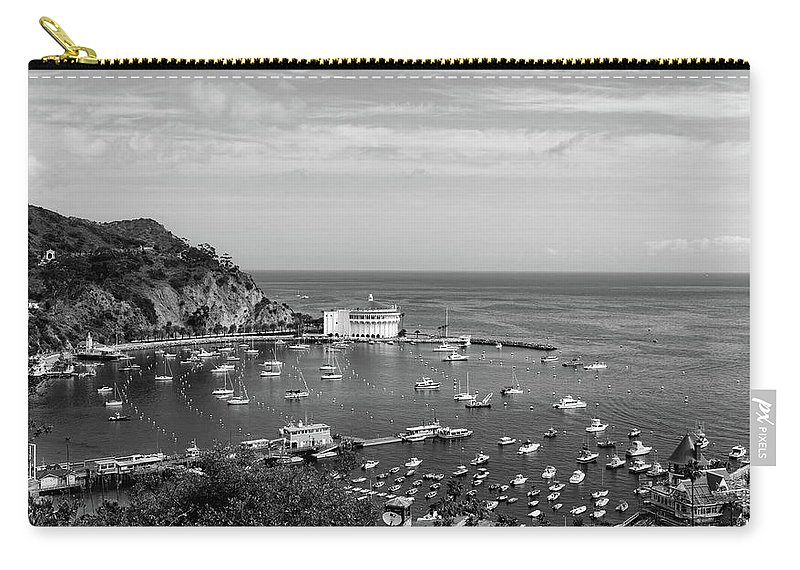 Catalina Island Carry-all Pouch featuring the photograph Avalon Harbor - Catalina Island, California by Mountain Dreams