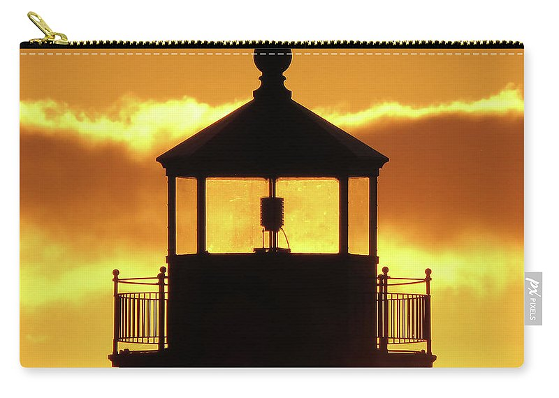 Sunrise Carry-all Pouch featuring the photograph Day Light by Alison Gimpel