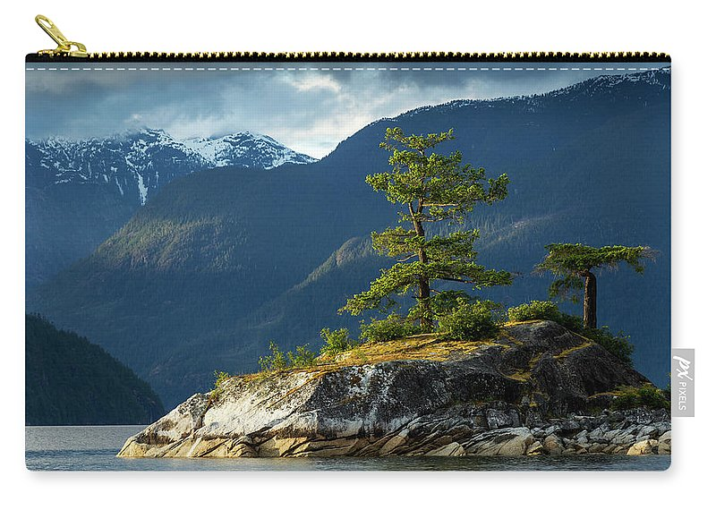 Scenics Carry-all Pouch featuring the photograph Desolation Sound, Bc, Canada by Paul Souders