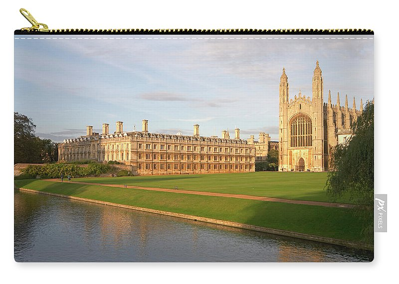 Shadow Carry-all Pouch featuring the photograph England, Cambridge, Cambridge by Andrew Holt