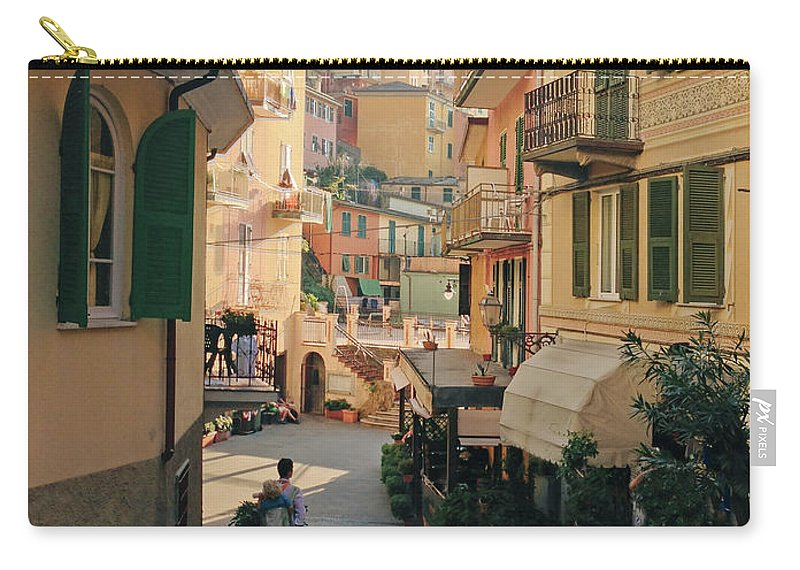 Toddler Carry-all Pouch featuring the photograph Manarola Italy by M Swiet Productions
