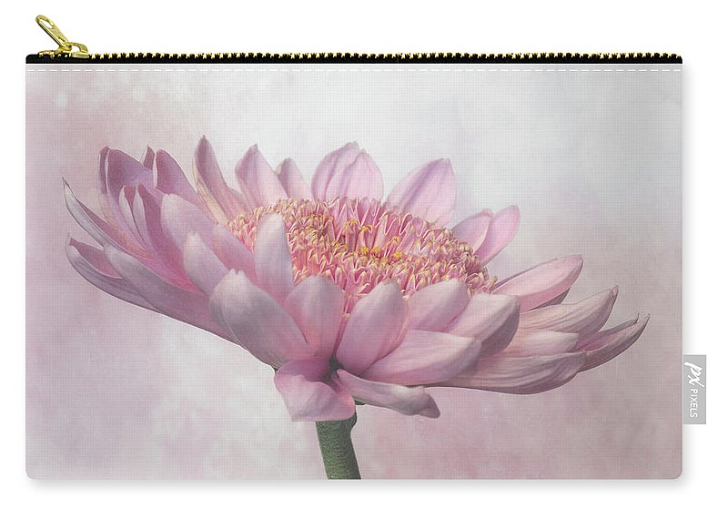 Flower Carry-all Pouch featuring the photograph Pretty In Pink by Sandi Kroll