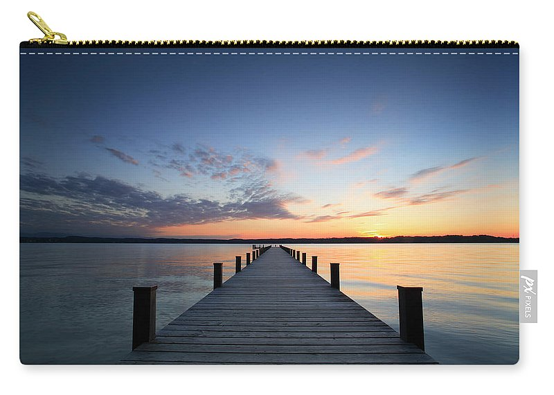 Water's Edge Carry-all Pouch featuring the photograph Silent Place by Avtg