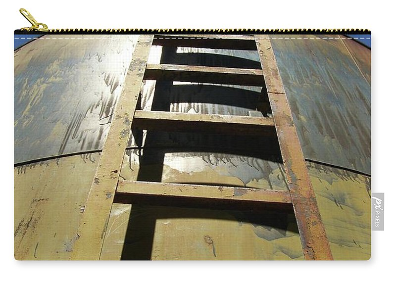 Landscape Carry-all Pouch featuring the photograph Steps To The Sun by Clair Flatt