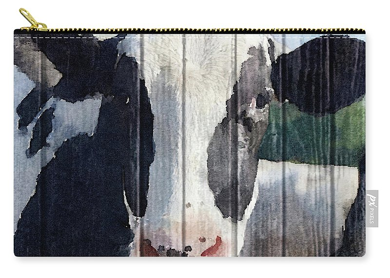 Sweet Carry-all Pouch featuring the painting Sweet Daisy II by Andi Metz